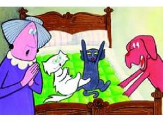 Frakk és a lusta macskák diafilm