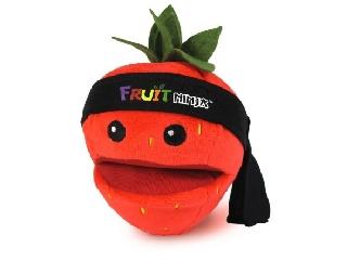 Fruit ninja plüss hanggal 13 cm, eper