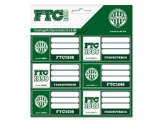 FTC csomagolt füzetcímke (3x6 db)