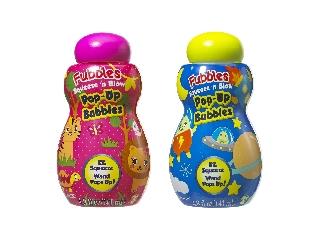 Fubbles Nyomd és fújd buborékfújó 141 ml (2 féle)
