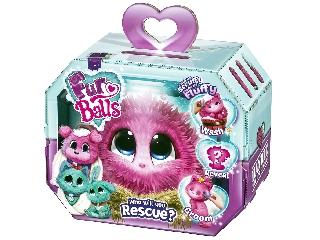 Fur Balls pink fürdethető meglepetés kisállat