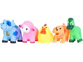 Fürdőjáték - állatok, 5 db /csomag