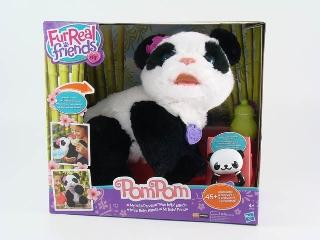FurReal Friends - PomPom Pandabébi interaktív plüssfigura