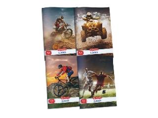 Herlitz: sportos sima füzet - A4-es, Quados , 80-32