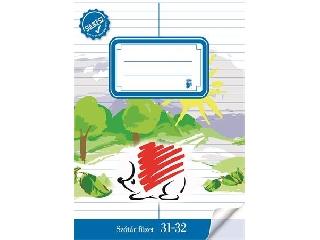Füzet, tűzött, A5, szótár, 32 lap, ICO