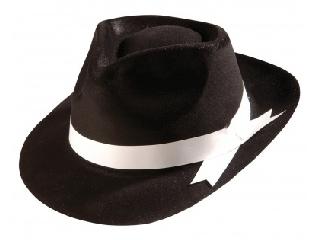 Gengszter kalap fekete