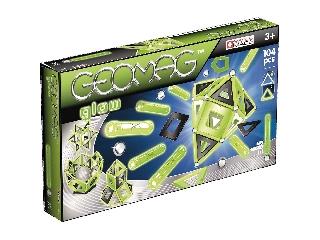 Geomag Glow Foszforeszkáló Mágneses 104 db-os szett