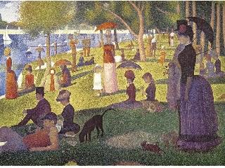 Georges Seurat: Vasárnap délután Grande Jatte szigetén 1500 db-os puzzle