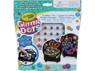 Glitteres Dekorgyöngyök: Mozaikkép készlet
