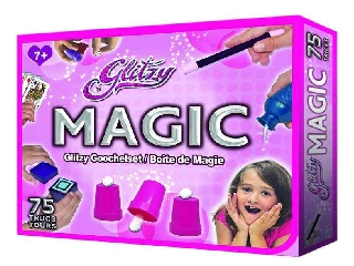 Glitzy Magic bűvészdoboz lányoknak - 75 trükk