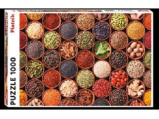 Gyógynövények és fűszerek 1000 db-os puzzle