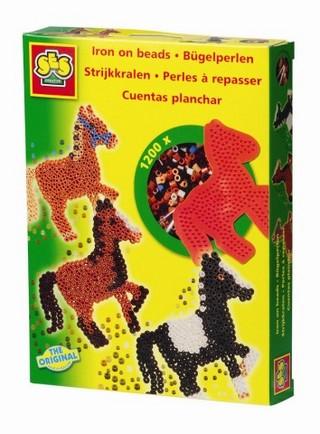 Gyöngykép szett - ló