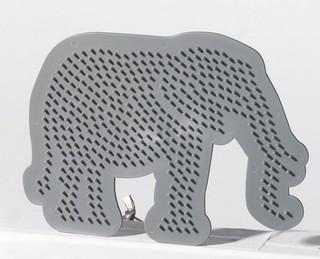 Gyöngyrakó minta - elefánt