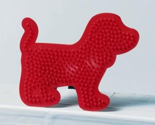 Gyöngyrakó minta, kutya
