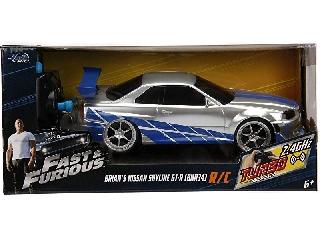 Halálos iramban RC Nissan Skyline GTR 1:24