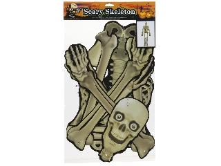 Halloween figura - csontváz 150 cm