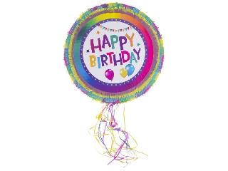 Happy Birthday pinata figura - 50 cm