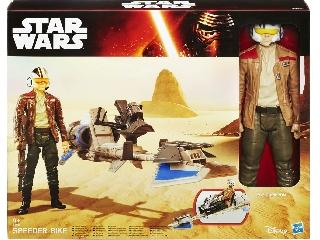 Hasbro Star Wars - Poe Dameron és Speeder Bike
