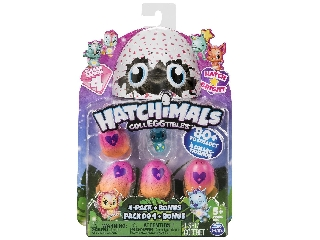 Hatchimals Gyűjthető Tojás (4db+bónusz) 4-es széria