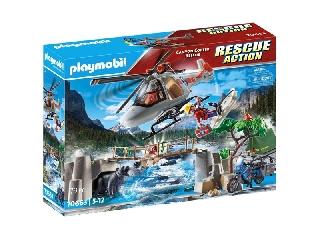 Helikopteres bevetés a kanyonban