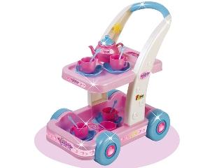 Hercegnő guruló teázó kocsi