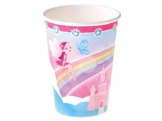 Hercegnő papírpohár 8 darabos - 250 ml