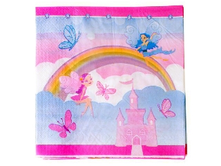 Hercegnő szalvéta 20 darabos - 33 x 33 cm