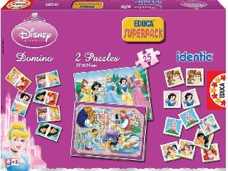 Hercegnős dominó memória és 2 db puzzle