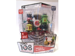 Hero108 2 db-os szett - Lee Jász + Béka Király