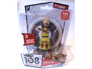 Hero 108 figura - Alpha Girl (Alfa Lány) 101
