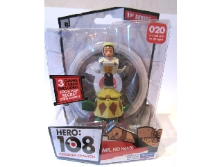 Hero 108 figura - Mr. No Hands (Nincskacsó) 020