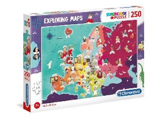 Hírességek Európában puzzle