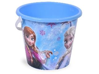 Homokozóvödör Frozen Jégvarázs