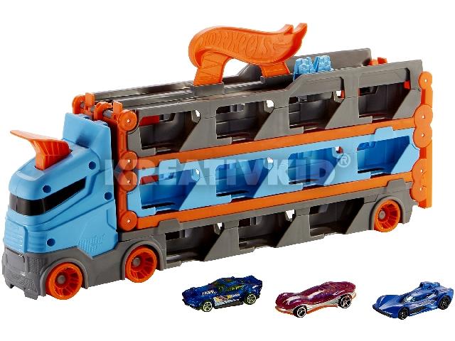 Hot Wheels 2 az 1-ben ultimate szállító kamion