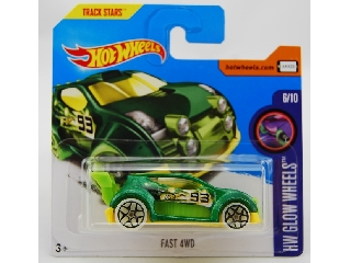 Hot Wheels - HW Glow Wheels: Fast 4WD