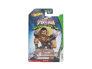 Hot Wheels - Pókember vs. Sinister kisautó - Kraven Ettorium