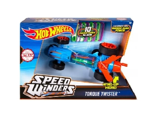 Hot Wheels - Speed Winders Torque Twister kék megajárgány