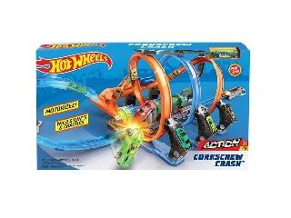 Hot Wheels - Spirál versenypálya
