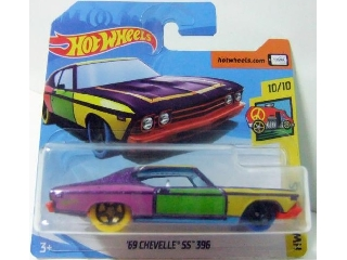Hot Wheels - Art Cars: 1969 Chevelle SS 396