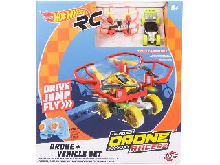 Hot Wheels Bladez Drón Racerz - drón & autó szett