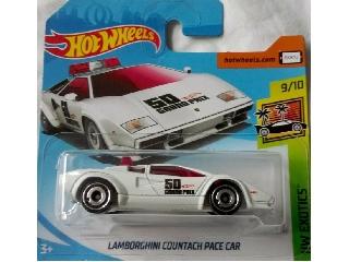 Hot Wheels - Exotics:Lamborghini Countach Pace Car