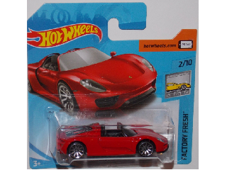 Hot Wheels - Factory Fresh:Porsche 918 Spyder