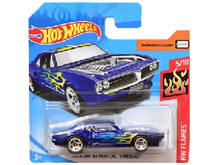 Hot Wheels - Flames:Custom 1967 Pontiac Firebirb