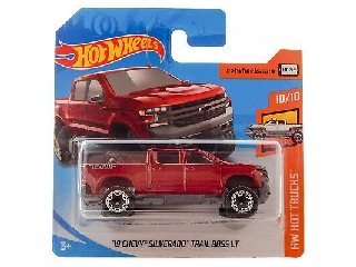 Hot Wheels - Hot Trucks:2019 Chevy Silverado Trail Boss LT