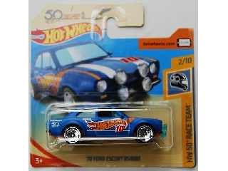 Hot Wheels - HW50 Race Team:1970 Ford Escort RS1600