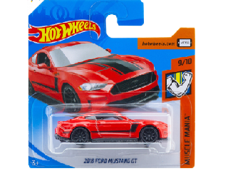 Hot Wheels - Muscle Mania:2018 Ford Mustang Gt