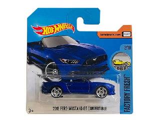 Hot Wheels Factory Fresh kisautó 1:64 2015 Ford Mustang Gt Convertible