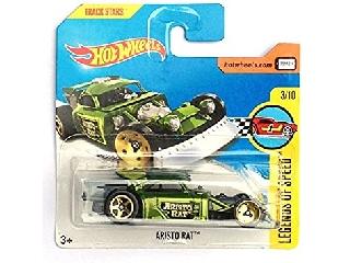 Hot Wheels Legends of Speed kisautó 1:64 Aristo Rat