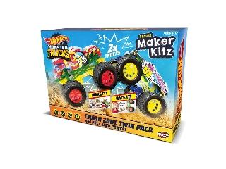 Hot Wheels Monster Trucks: Csináld magad Szörnyverda - 2 db-os