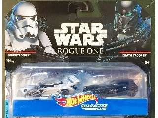 Hot Wheels Star Wars karakter kisautók 2 db-os készlet: Stormtrooper, Death Trooper